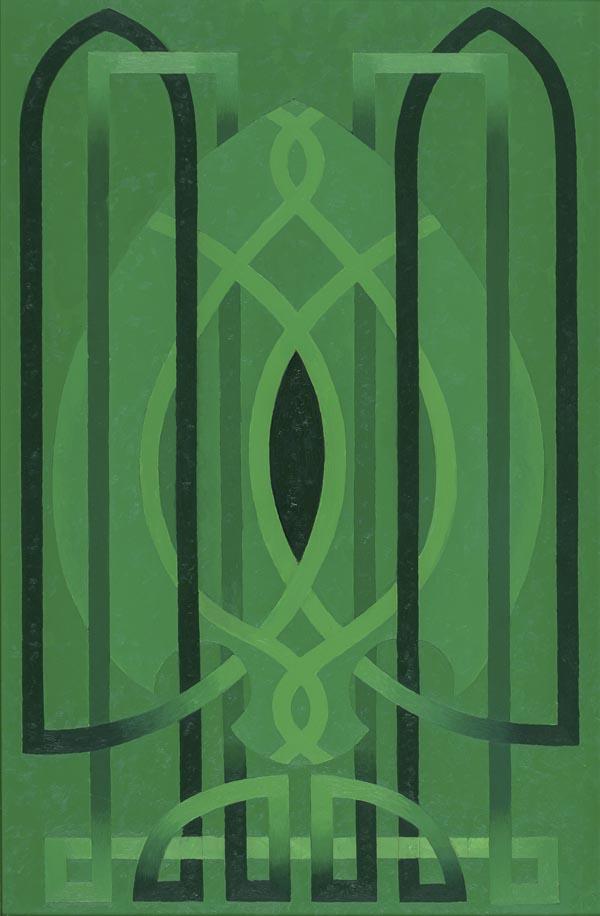 ea-009-green-church-2011-oil-on-foamcore-19-x-13-600